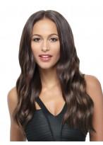Perruque Parfaite Ondulée Lace Front De Cheveux Naturels