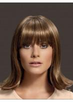 Perruque Capless Soyeuse Lisse De Cheveux Naturels