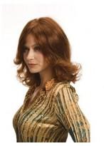 Perruque Ondulée Sur Mesure De Cheveux Naturels