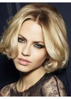 Perruque Cheveux Naturels Mi-Longue Lace Front Magnfique