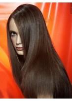 Perruque Cheveux Naturels Full Lace Lisse Élégante