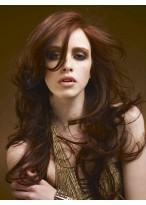 Perruque Cheveux Naturels Longue Lace Front Ondulée Glamoureuse
