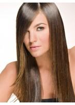 Perruque Cheveux Naturels Lace Front Lisse Séduisante