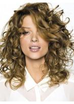 Perruque Cheveux Naturels Longue Lace Front Ondulée Volumineuse