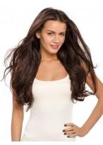 Perruque Cheveux Naturels Longue Lace Front Ondulée Séduisante