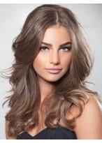 Perruque Cheveux Naturels Lace Front Ondulée Magnifique