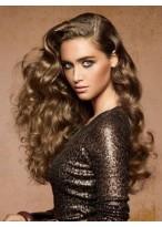 Perruque Cheveux Naturels Lace Front Ondulée Gracieuse