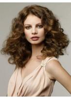 Perruque Cheveux Naturels Lace Front Ondulée Flatteuse