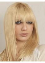 Perruque Cheveux Naturels Capless Lisse Incroyable