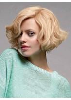 Perruque Cheveux Naturels Lace Front Ondulée La Plus Populaire