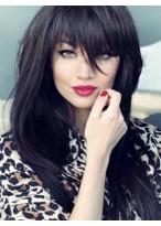 Perruque Cheveux Naturels Capless Lisse Flatteuse