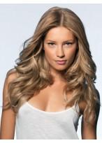 Perruque Adorable Cheveux Naturels Ondulée Lace Front