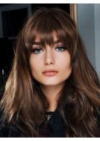 Perruque Cheveux Humains Capless Ondulée