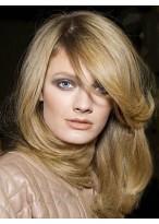 Perruque Brillante Lisse Lace Front Cheveux Natureles