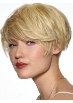 Perruque Agréable Lisse Capless Cheveux Natureles