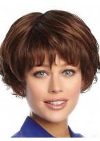 Perruque Belle Ondulée Capless Cheveux Natureles