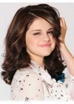 Perruque Brillante Lace Front Ondulée Cheveux Natureles