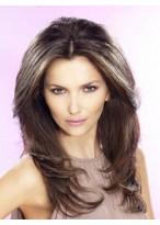 Perruque Eblouissante Longue Cheveux Natureles Lace Front