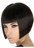 Perruque Durable Cheveux Natureles Lisse Capless
