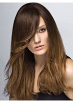Perruque Populaire Longue Cheveux Natureles Capless