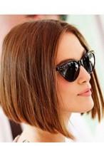 Perruque Nouveau Style Lisse Lace Front Cheveux Naturels