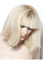 Perruque Chic Cheveux Naturels Lisse Capless