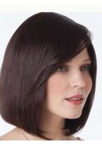 Perruque Naturelle Lisse Lace Front Cheveux Naturels