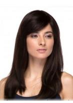 Perruque Abordable Cheveux Naturels Lisse Capless