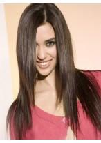 Perruque Merveilleuse Lisse Lace Front Cheveux Humains