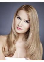 Perruque Jolie Ondulée Lace Front Cheveux Humains