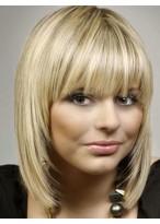 Perruque Glorieuse Lisse Capless Cheveux Humains
