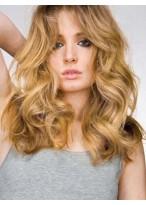 Perruque Merveilleuse Cheveux Humains Ondulée Lace Front