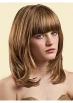 Perruque Jolie Lisse Capless Cheveux Humains