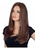 Perruque Elégante Lisse Capless Cheveux Naturels