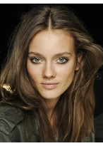 Perruque Abordable Cheveux Humains Lisse Lace Front