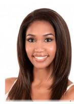 Perruque Confortable Longue Lisse Lace Front Cheveux Naturels