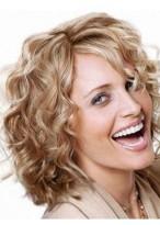 Perruque Populaire Ondulée Cheveux Naturels Lace Front