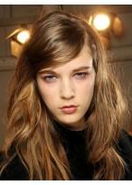 Perruque Plus Populaire Lace Front Lisse Cheveux Naturels