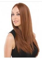 Perruque Lace Front Lisse Élégante De Cheveux Naturels
