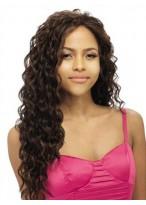 Perruque Lace Front De Cheveux Naturels Ondulée