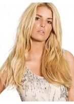 Perruque Frappante Lisse Cheveux Naturels Lace Front