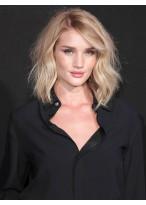 Perruque En Vogue Cheveux Naturels Ondulée Lace Front