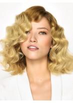 Perruque Merveilleuse Ondulée Cheveux Naturels Lace Front