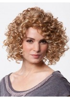 Perruque Gracieuse Curly Synthétique Lace Front
