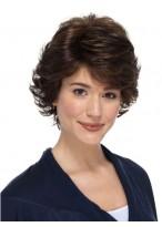 Perruque Belle Ondulée Cheveux Humains Lace Front