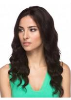 Perruque Séduisante Ondulée Cheveux Naturels Lace Front