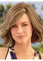 Perruque Moderne Ondulée Cheveux Naturels Lace Front