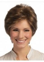 Perruque Abordable Lisse Cheveux Naturels Lace Front