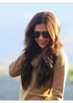 Perruque A La Mode Ondulée Cheveux Naturels Lace Front