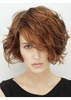 Perruque Bonne Ondulée Cheveux Naturels Lace Front